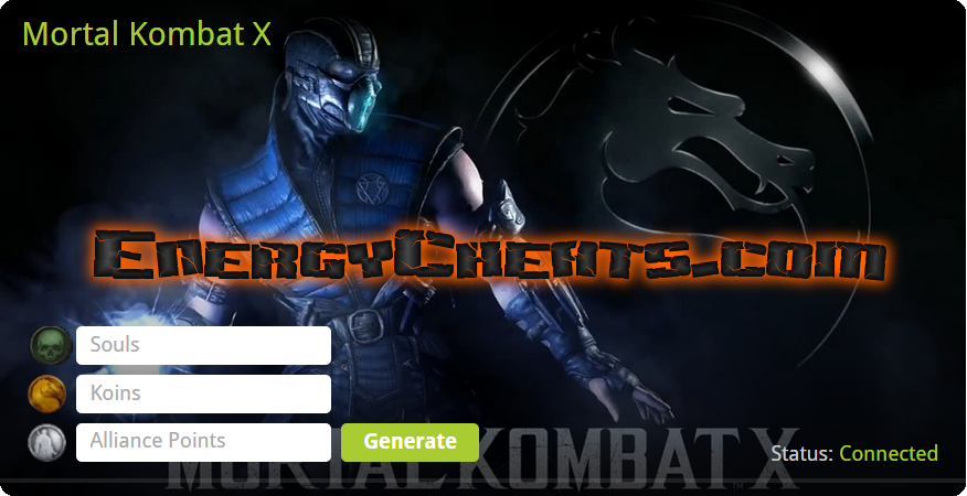 Mortal Kombat X Hack [Unlimited Souls and Koins] – Energy Cheats